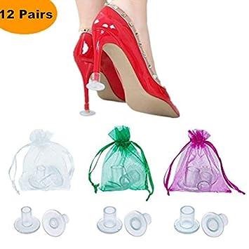 9be4d313711 Amazon.com  12 Pairs Transparent High Heel Protectors