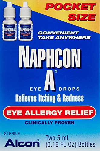 Naphcon-A Eye Drops, Twin Pack, 2 Count of 0.16 Fl Oz