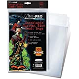 ultra pro resealable current size comic bags pack of 100