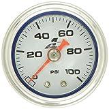 diesel fuel pressure gauge - Aeromotive 15633 Fuel Pressure Gauge - 0 to 100 psi
