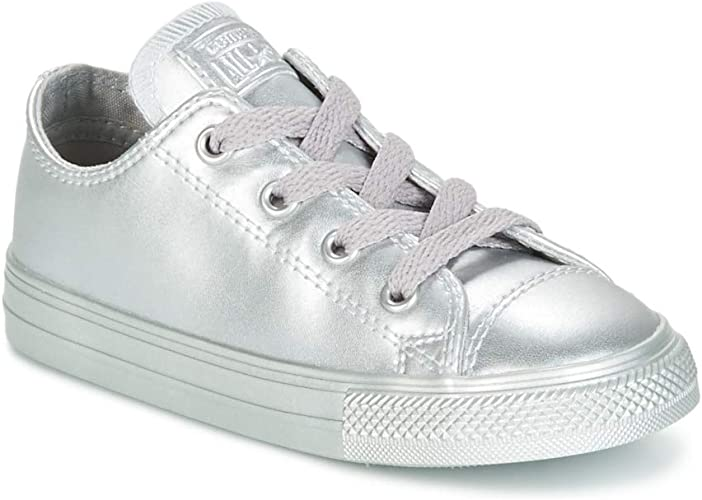 Converse Chuck Taylor All Star METALLIC Leather OX Infant