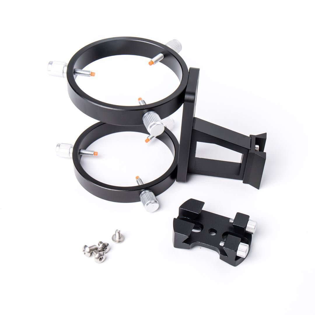 MEOPTEX Bracket System for 10x60 Finder + Guide Scope 45° Angled with Illuminated Reticle Eyepiece by MEOPTEX