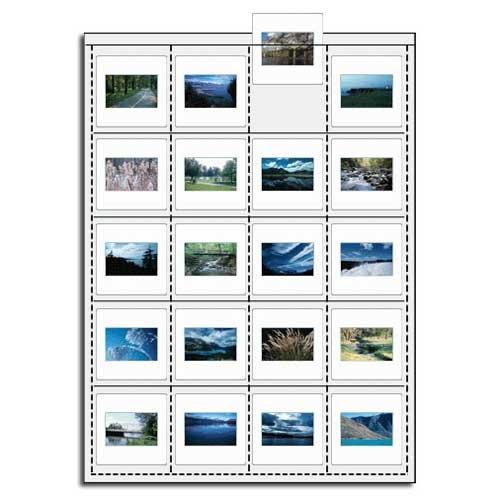 Vue All V7660 35mm Slide Saver Archival Storage Page - Top ()