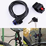 Shalleen Anti Theft Device Motor Bike Cycle Bicycle Scooter Security Wire Cable Lock