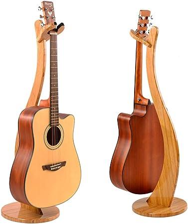 Universel Support De Guitare D/étachable Pour Guitare Classique Exqline Support Pour Guitare en Bois Portable etc. /éLectrique Acoustique Basse