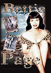 BETTIE PAGE-Leopardskin-Licensed  POSTER-90cm x 60cm-Brand New-50/'s Pin Up