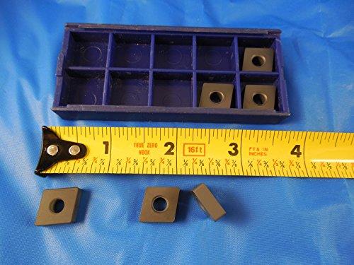 (5 PCS Carbide CNMA 432 A 120400 E Inserts & 1 PC Ceramic CNC Machinist Tooling)