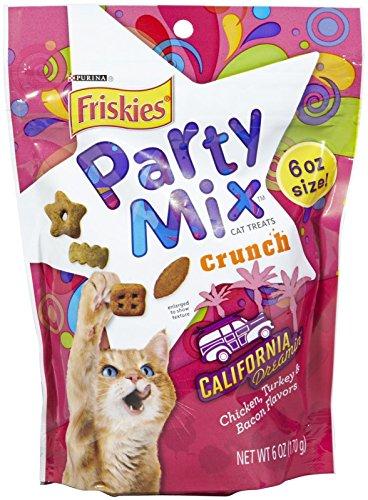 Friskies Party Mix California Dreamin' Crunch - -