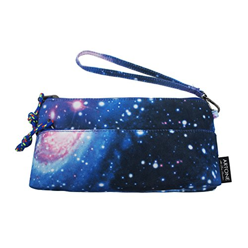 artone-large-capacity-universe-galaxy-pencil-case-pen-bag-pounch-cosmetic-bag-blue
