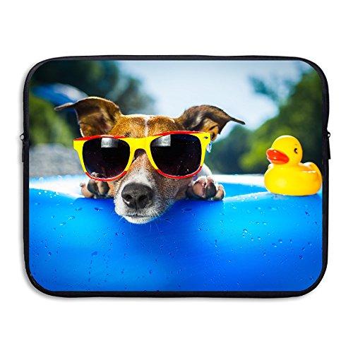 Bxse Duck Dog Sunglasses Laptop Bag Liner Bag Laptop Computer Sleeve Portable Waterproof Notebook Liner Package Laptop Pack 13/15 - Sunglasses Lizards