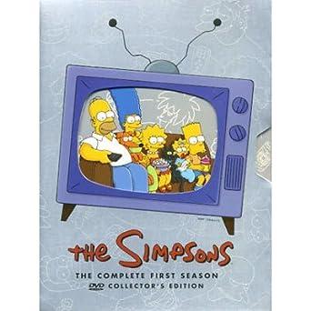 Amazon Com The Simpsons Season 1 Dvd Movies Tv