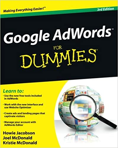 Dummies guide to google adwords прием заказа на изготовление наружной рекламы