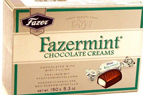 Nordic Mints (Fazermint Chocolate Creams (Mint Cream) - 5.3oz (Pack of 1))