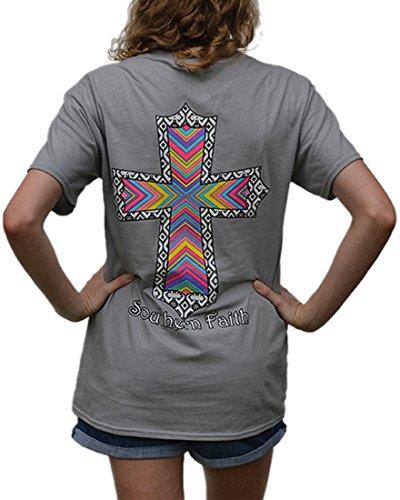 southern-faith-aztec-cross-short-sleeve-tee-gravel-large