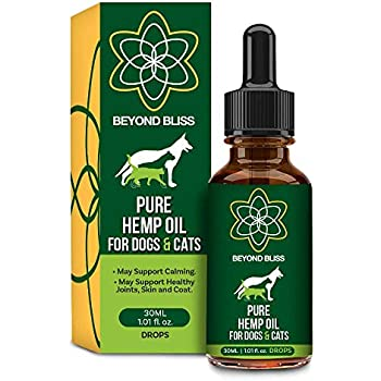 Amazon.com : Natural Hemp Oil for Dogs & Cats - 5000mg