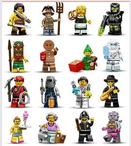 Amazon.com: Lego Minifigure Series 11 - Complete Set of 16 ...