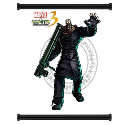 Marvel Vs Capcom 3 Nemesis Game Fabric Wall Scroll Poster