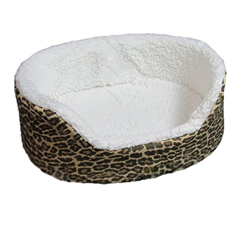 Animal Print Dog Bed - Beds 4 All 21