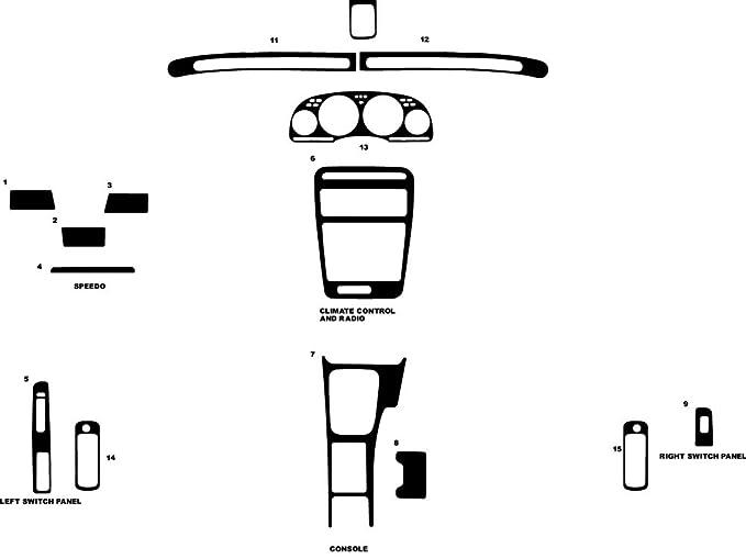 Amazon com: Rdash Dash Kit Decal Trim for Nissan 300ZX 1990-1996