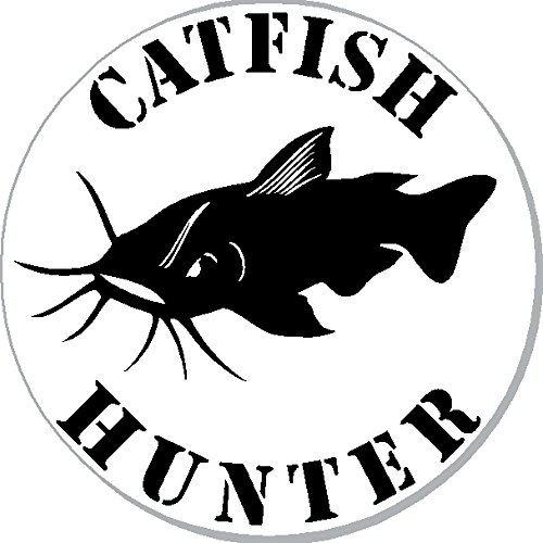 1 | Catfish Hunter, I Make DecalsTM, funny, humor, Hard Hat, lunch box, tool box, Helmet Stickers 2