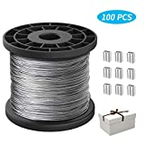 1/16 Wire Rope,Stainless Steel 304 Wire Cable,7x7