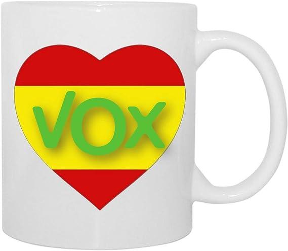 Desconocido Taza VOX Yo también Amo a ESPAÑA: Amazon.es: Hogar