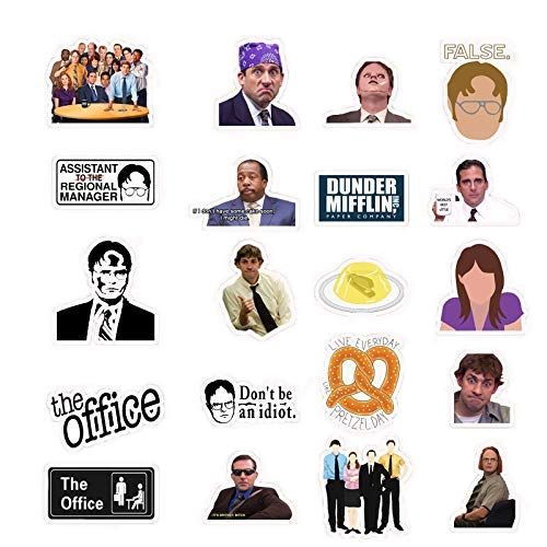 The Office Merchandise, The Office Stickers, Memorabilia for The Office - TV Show Dunder Mifflin Vin - http://coolthings.us