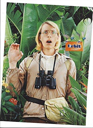 Rainforest Citrus Mint (MAGAZINE ADVERTISEMENT For 2006 Orbit Citrus Mints Man In Rain Forest)