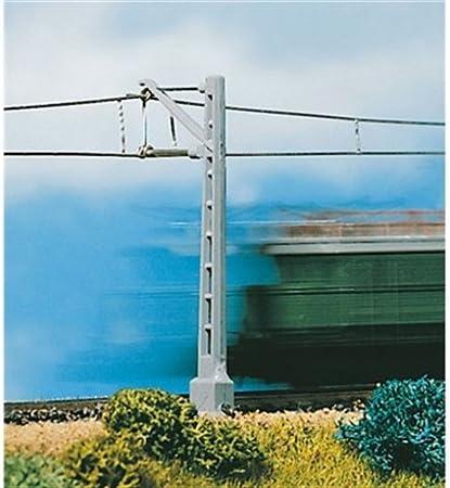 Vollmer 10 alte Oberleitungsmasten neu nicht eingebaut gewesen
