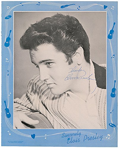 Elvis Presley Autograph Signed Jailhouse Rock Photo ()