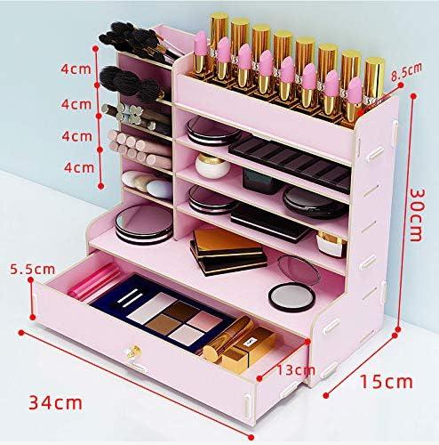 Desktop Kosmetik Aufbewahrungsbox Hautpflege Lippenstift Augenbrauen Bleistift Maske Schminktisch Rack