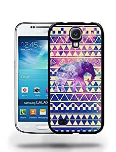 Aztec Tribal Space Elephant Hipster Pattern Phone Case Cover Designs for Samsung Galaxy S4