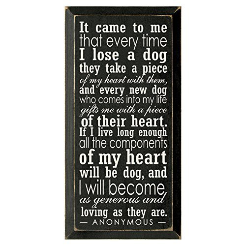 Every Dog Takes A Piece Of My Heart Wall (Every Sign)