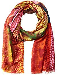Women's Multi Color Snake Print Scarf