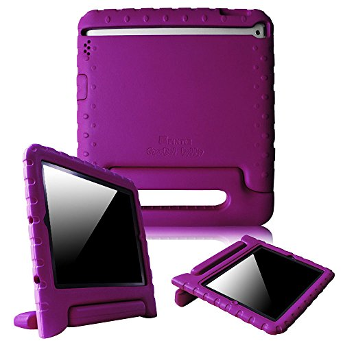 Fintie iPad 2/3/4 Kiddie Case - Light Weight Shock Proof Convertible Handle Stand Kids Friendly for Apple iPad 4th Generation With Retina Display, the iPad 3 & iPad 2 - Purple by Fintie