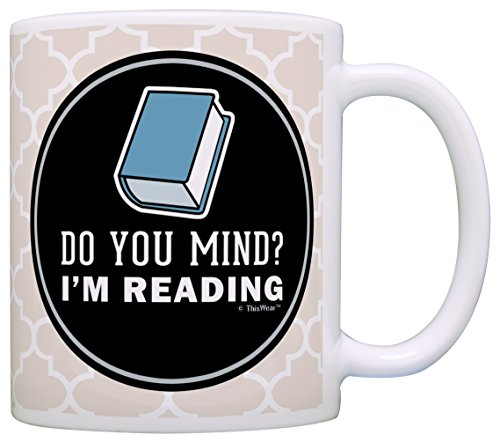 Introvert Gifts Reading Librarian Coffee