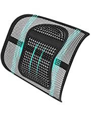 ASTOTSELL Office Chair Back Support, Mesh Back Lumbar Support Cushion Lower Back Support for Women Men Office Chair Car Seat Home