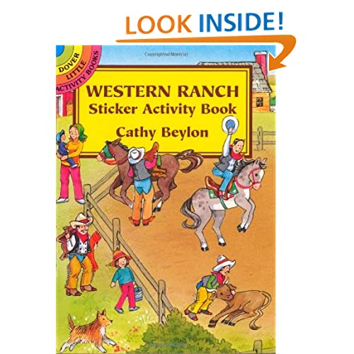 Western Ranch Sticker Activity Book (Dover Little Activity Books) Cathy Beylon and Activity Books