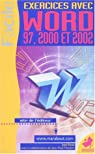Word 2000à 2002 : Exercices par Roda
