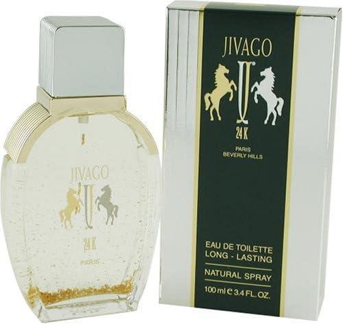 [Jivago 24k] 男性のためのJivagoの24Kの50ミリリットルオードトワレスプレー