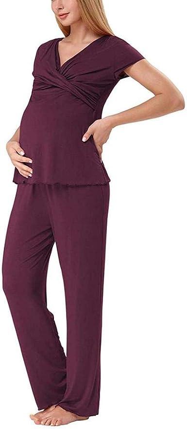 Vestidos para Premamá Pijamas De Maternidad Mujeres ...