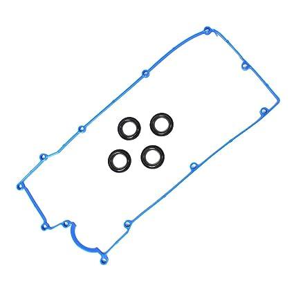 amazon com: dnj vc172g valve cover gasket set w/grommets for 2006-2011 /  hyundai, kia/accent, rio, rio5 / 1 6l / dohc / l4 / 16v / 1599cc: automotive