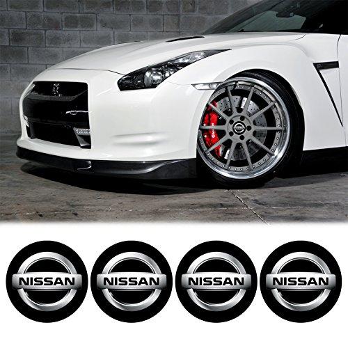edwardsmithcarstm-4-x-55mm-diameter-nissan-wheel-center-cap-sticker-emblem-self-adhesive-for-flat-su