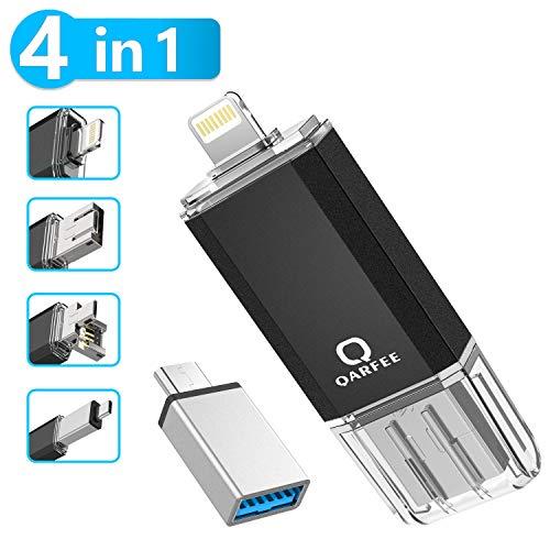 Qarfee USB Stick 64GB Für Handy Tablet und PC USB 3.0 Flash Laufwerk...