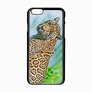iPhone 6 Black Hardshell Case 4.7inch big predator eyes Desin Images Protector Back Cover