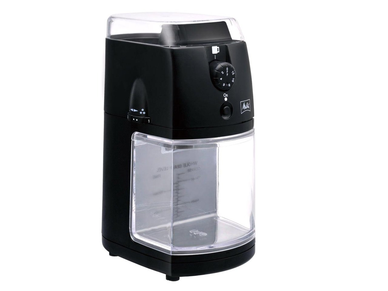 Melita Electric Coffee Mill Perfect Touch 2 CG - 5 B 113 × 153 × H 219 mm