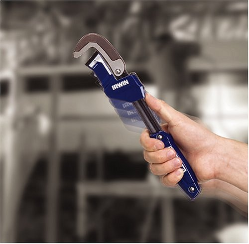 Irwin 274001DS Vise Grip 2-1/4-Inch Jaw Capacity 11-Inch Quick Adjusting Pipe Wrench