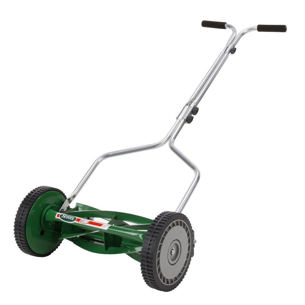 Great States 304-14 14-Inch 5-Blade Push Reel Lawn Mower