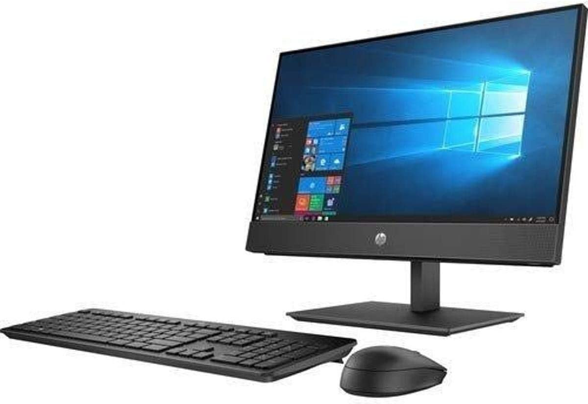 "HP Business Desktop ProOne 600 G5 All-in-One Computer - Pentium Gold G5420-4 GB RAM - 500 GB HDD - 21.5"" 1920 X 1080 - Desktop - Windows 10 Pro 64-bit - Intel UHD Graphics 610 - DVD-Writer - EN"