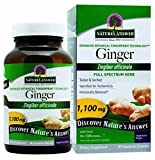 Nature's Answer Ginger Rhizome, 90-Count For Sale